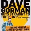 Dave Gorman, from London